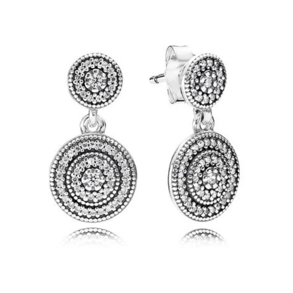 c0f88c845 PANDORA Radiant Elegance Drop Earrings. M_5a724f2e46aa7c96be1c7b97